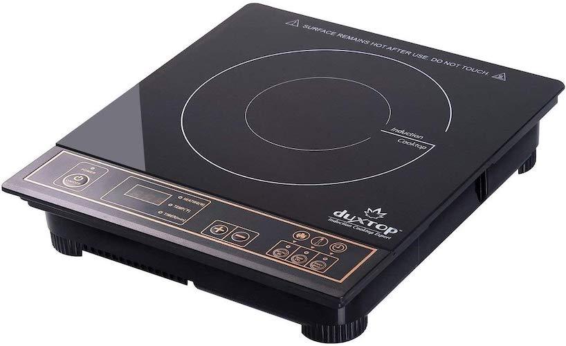 2. Duxtop 1800W Portable Induction Cooktop Countertop Burner