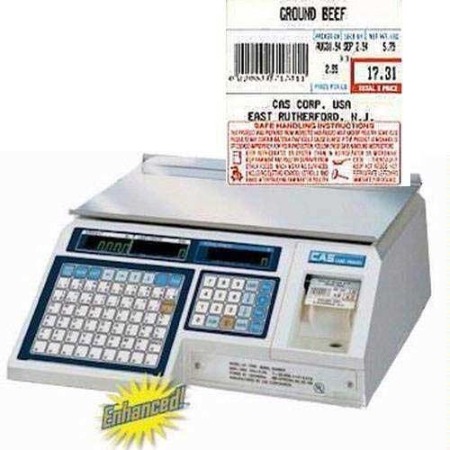 2. CAS LP-1000N Label Printing Scale