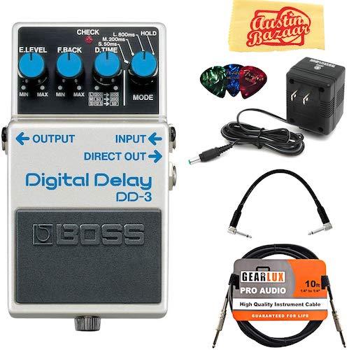 3. Boss DD-3 Digital Delay Bundle
