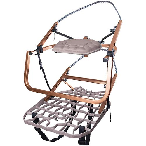 3. Lone Wolf Wide Flip Top Climber Combo Climbing Tree Stand