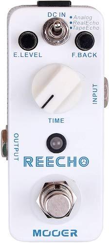 6. Mooer Reecho, digital delay pedal
