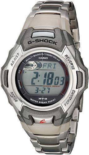 5. Casio Men's G Shock Stainless Watch