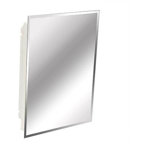 7. American Pride 9622WBAR12 – Recessed Frameless Beveled Polished Edge Mirror Medicine Cabinet 16