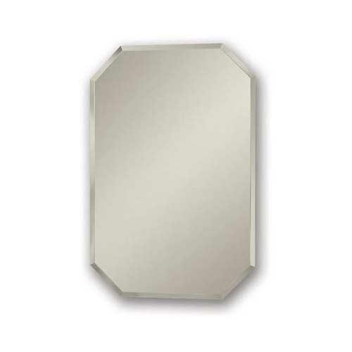 9. Jensen 1454 Mirage Octagonal Frameless Medicine Cabinet with Beveled Mirror