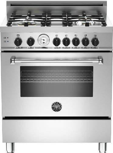 6. MAS304GASXT | Bertazzoni Master 30 Gas Range, 4 Burners, Natural Gas