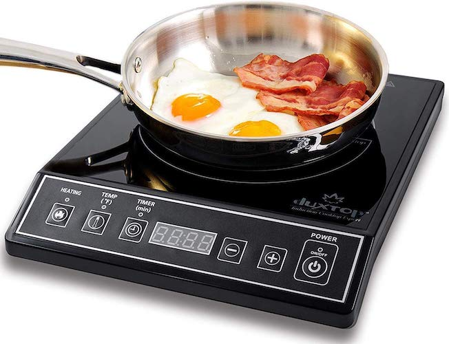 3. Duxtop 1800W Portable Induction Cooktop Countertop Burner