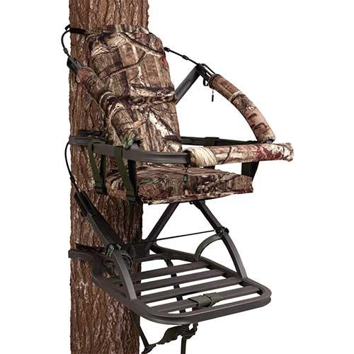 1. Summit Treestands Mini Viper SD Climbing Treestand, Mossy Oak