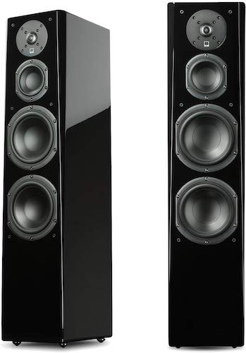 2. SVS Prime Tower Speaker (Piano Gloss Pair)