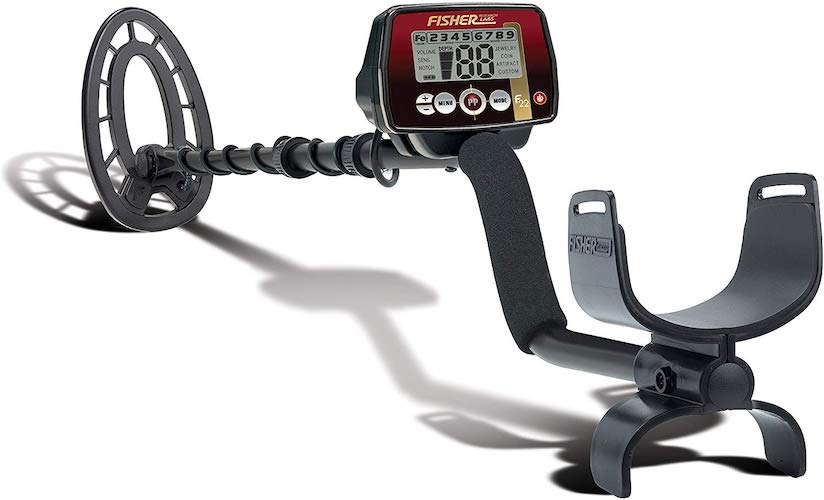 8. Fisher F22 Weatherproof Metal Detector with Submersible Search Coil