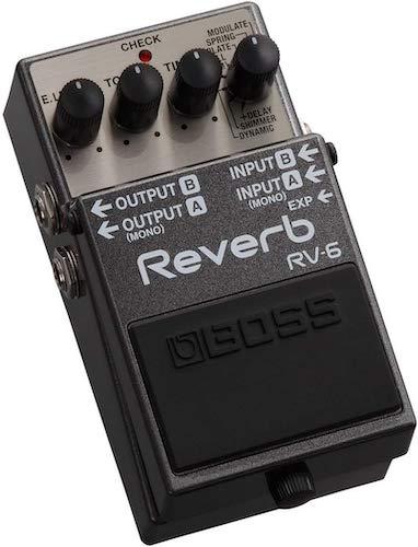 7. BOSS Reverb Guitar Pedal (RV-6)