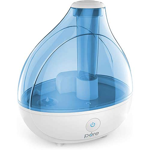 2. Pure Enrichment MistAire Ultrasonic Cool Mist Humidifier