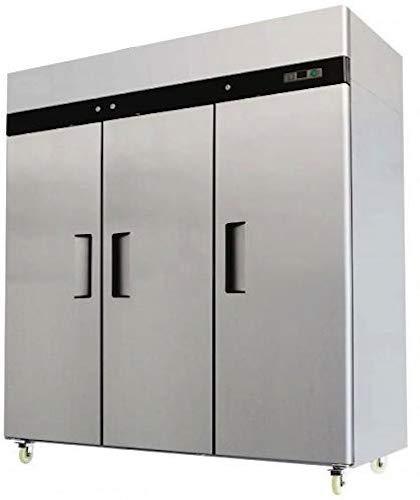 2. 3 Door Stainless Steel Freezer Commercial Freezer MBF-8003