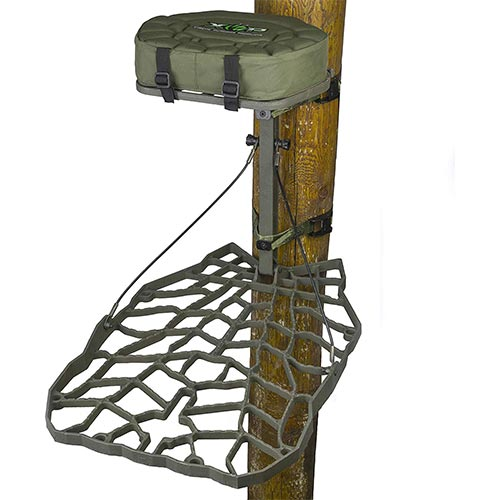 6. XOP-XTREME OUTDOOR PRODUCTS Air Raid Cast Aluminum Tree Stand