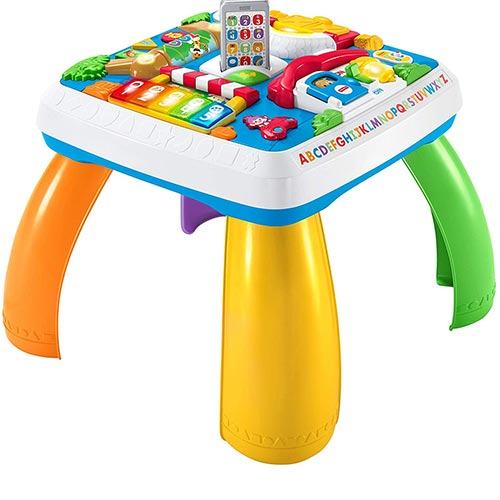 1. Fisher-Price Laugh & Learn Around The Town Learning Table Playset