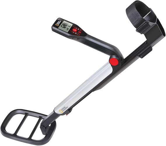 5. NATIONAL GEOGRAPHIC PRO Series Metal Detector