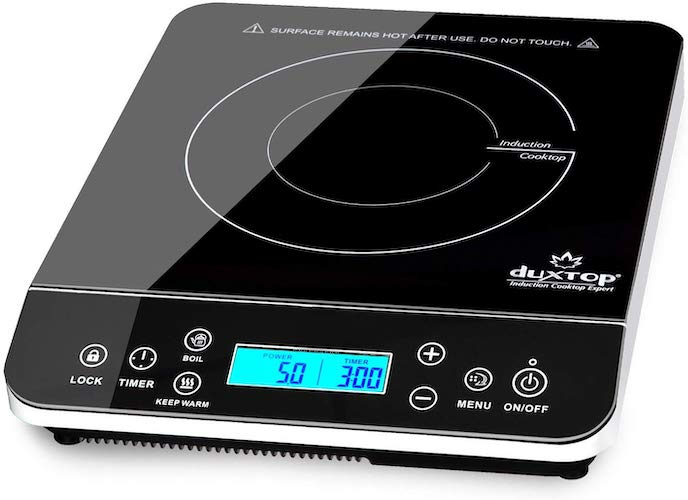 4. Duxtop Portable Induction Cooktop, Countertop Burner Induction Hot Plate