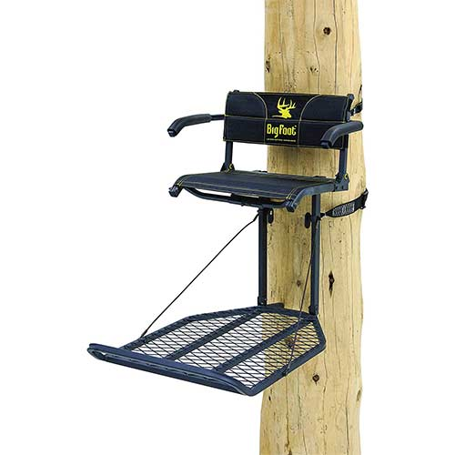 7. Rivers Edge Big Foot XL Lounger Hang On Portable Hunting Tree Stand