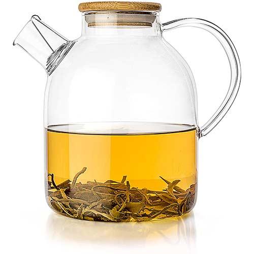 2. Tealyra - Glass Teapot - Stove-top Kettle