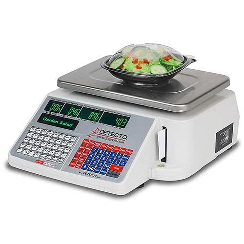3. Detecto DL1060 Deli Scale with Integral Printer