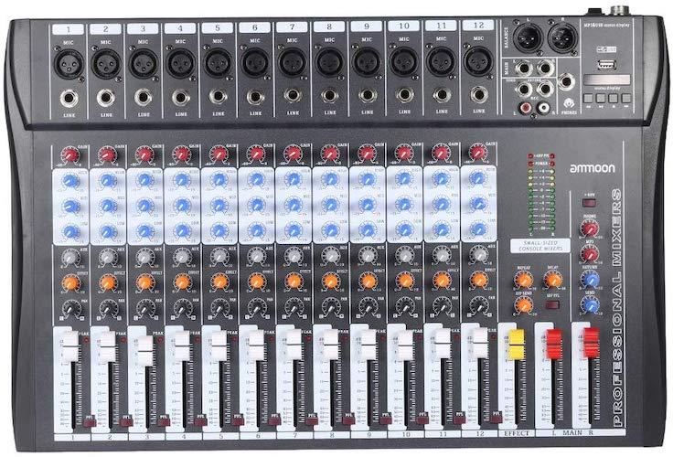 5. Ammon 120S-USB 12 Digital Mixer