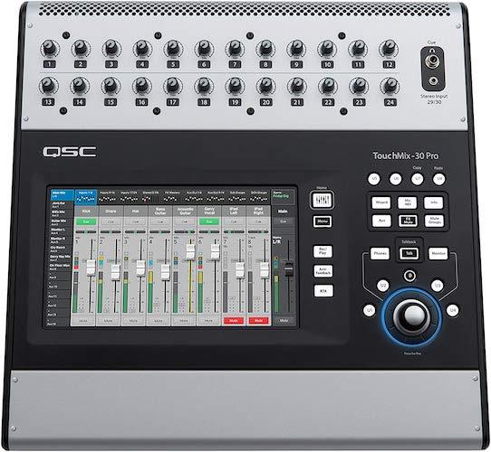 8. QSC TouchMix-30 Compact Digital Mixer