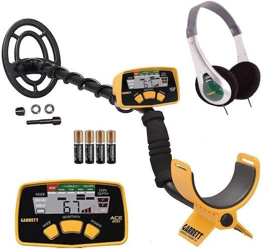9. Garrett ACE 200 Metal Detector