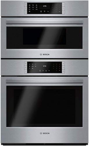 8. Bosch S800 Combination Wall Oven/Speed Oven, Touch Control (HBL8752UC)