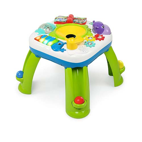 8. Bright Starts Having a Ball Get Rollin' Activity Table