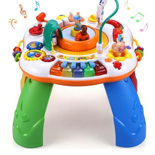 7. Sytle-Carry Learning Activity Table Toddler Toys