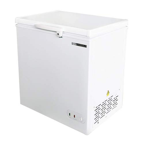 8. Maxx Cold 5.2 Cubic Feet 147 Liter Solid Hinged Top Sub Zero Commercial Chest Freezer