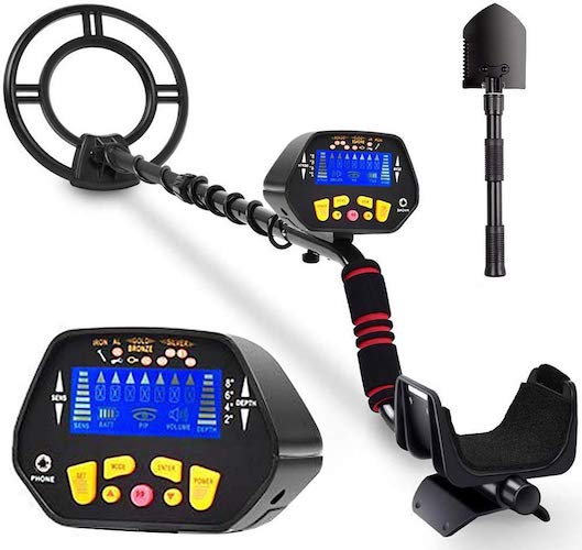 4. RM RICOMAX Metal Detector for Adults & Kids