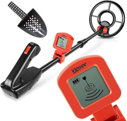 5. Viewee Metal Detector for Kids, Classic Style Junior Metal Detector