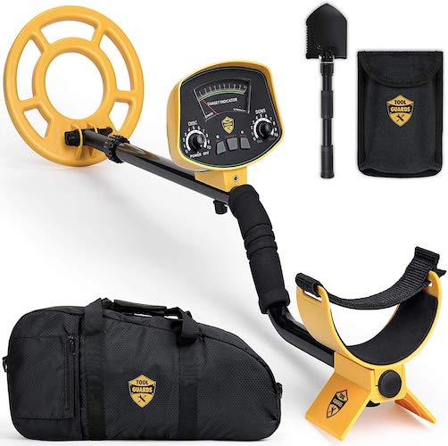 6. ToolGuards Metal Detector Easy to Use Carry Bag & Shovel