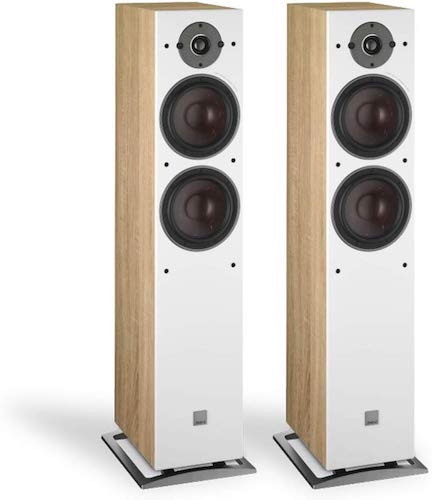 7. Dali Oberon 7 Floorstanding Speaker - Light Oak (Pair)