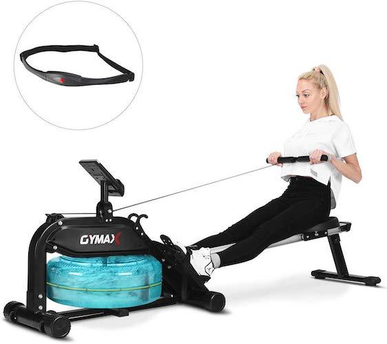 6. Goplus Water Rowing Machine
