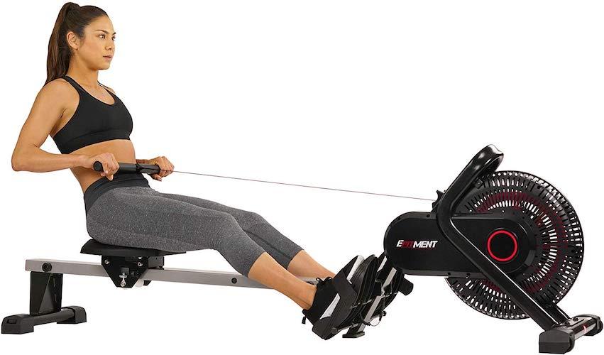 5. EFITMENT Aero Air Fan Rowing Machine Rower