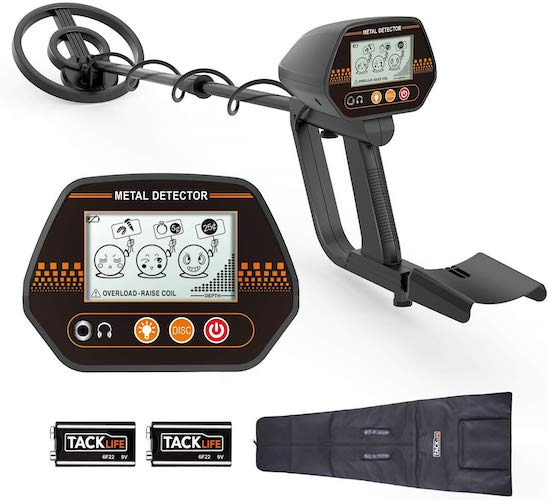 7. Metal Detector, 3 Modes Adjustable Waterproof Detectors (24