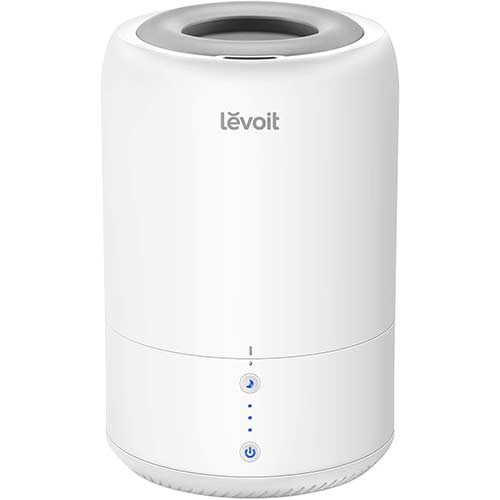 6. LEVOIT Humidifiers for Bedroom, Top Fill Cool Mist Ultrasonic Humidifier Essential Oil Diffuser for Babies Room
