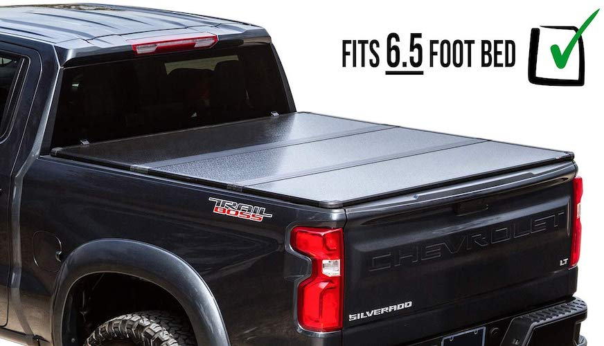 10. RDJ Trucks Travel-PRO 65-Series Hard Tonneau - Solid Folding Bed Cover