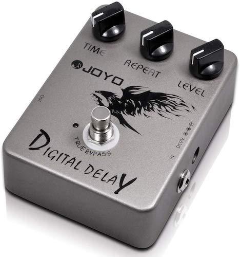 2. JOYO JF-08 Digital Delay Pedal, Delay Effects Pedal, Guitar Mini Pedal, Guitar Gear, Single Effect