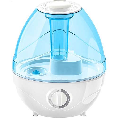 3. LEVOIT Humidifiers for Bedroom, 2.4L Ultrasonic Cool Mist Humidifier for Babies