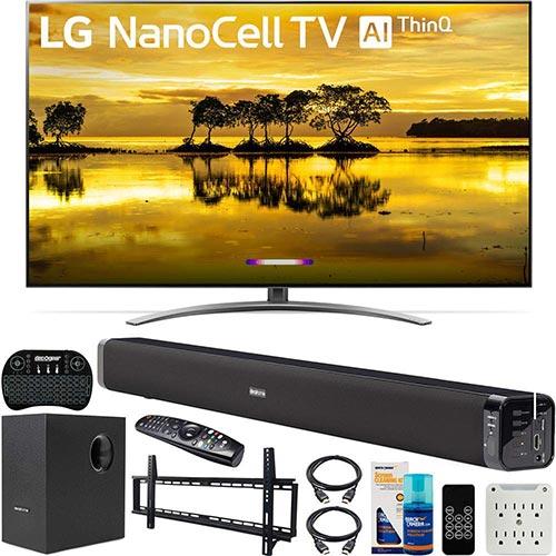 3. LG 65SM9000PUA 65 inch 4K HDR Smart LED NanoCell TV