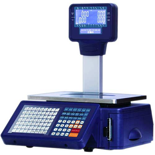 10. CGOLDENWALL Barcode Printing Scale Dual Screen Display Label Printing Scale