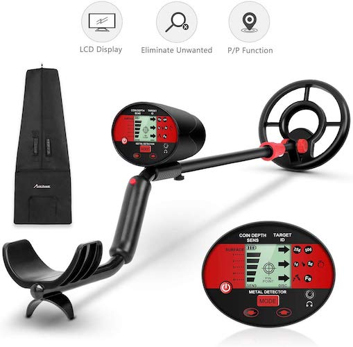 4. Avid Power Metal Detector for Adults