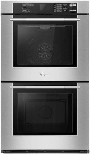 6. Empava 30 in Electric Double Wall Built-in Self-cleaning Convection Fan Touch Control Ovens