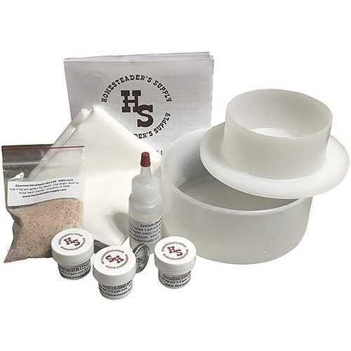 10. Homesteaders Supply Best Basic Cheese Making Kit