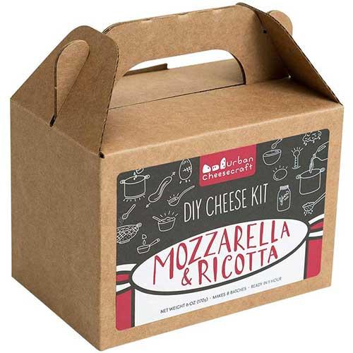 5. Mozzarella and Ricotta DIY Cheese Kit