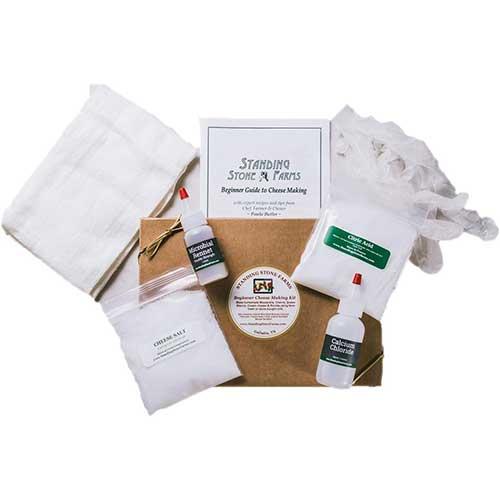 4. Standing Stone Farms Basic Beginner Cheese Making Kit