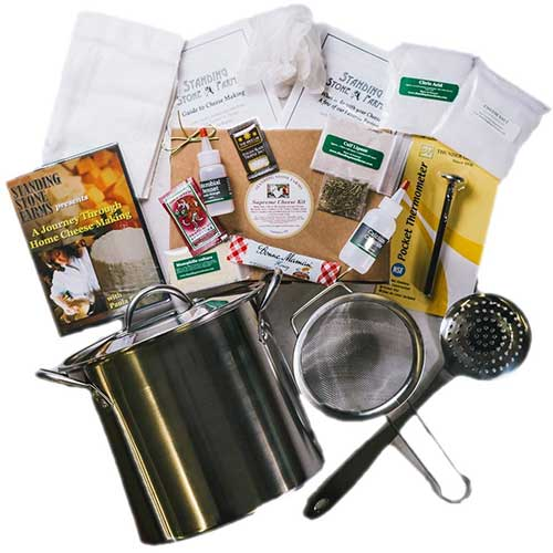 1. Standing Stone Farms Complete Cheese Making Kit