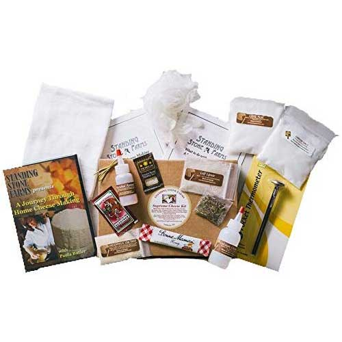 9. Supreme Cheese Making Kit Plus DVD
